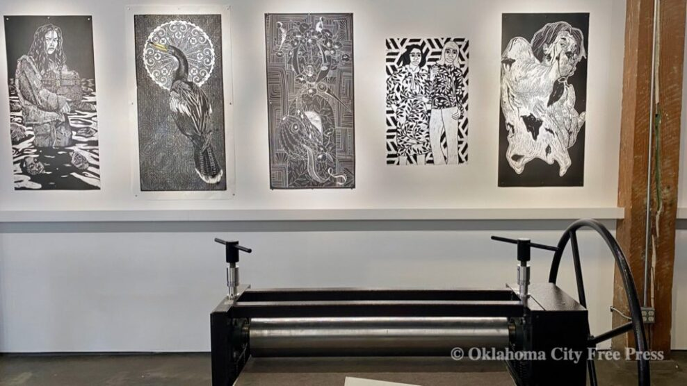 'Big Ink' at Artspace Untitled reveals depth, detail of woodblock printing