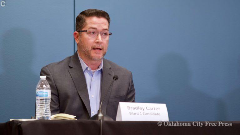 Carter wins Ward 1 seat in the OKC City Council runoffs
