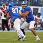 Tennessee State offense sputters in 24-10 loss at Tennessee Tech