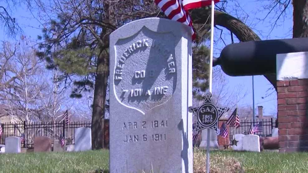 Civil War veteran receives headstone 110 years after his death