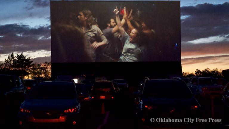 deadCenter Film Fest fans enjoy schedule launch at Winchester Drive-In