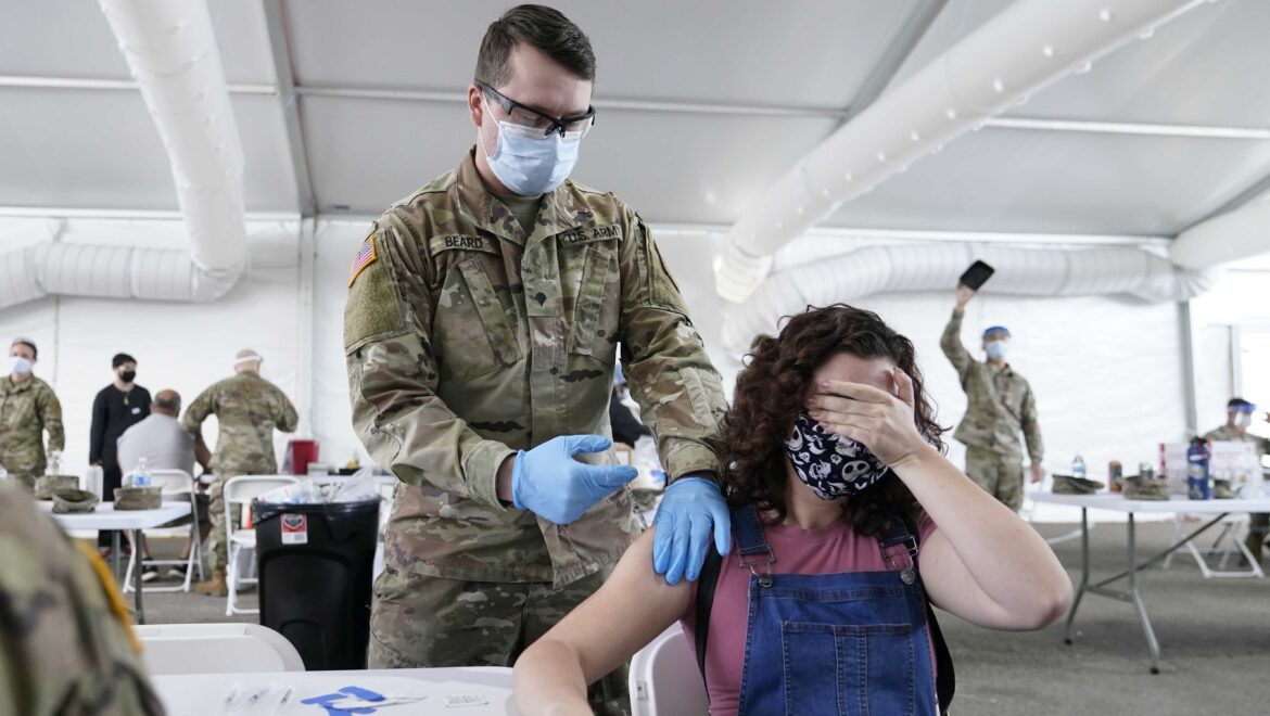 Nearly half of country's new COVID-19 infections are in just 5 states