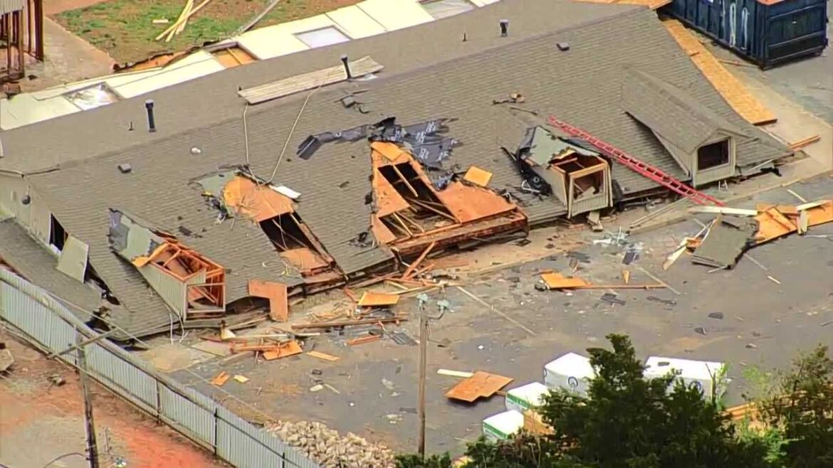 One person seriously injured when building collapses in Oklahoma City