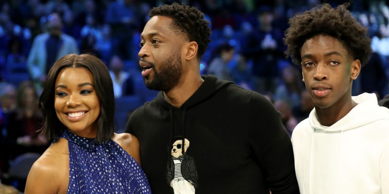 Zaire Wade Defends Dad Dwyane Against Father's Day Hate   Celebrities