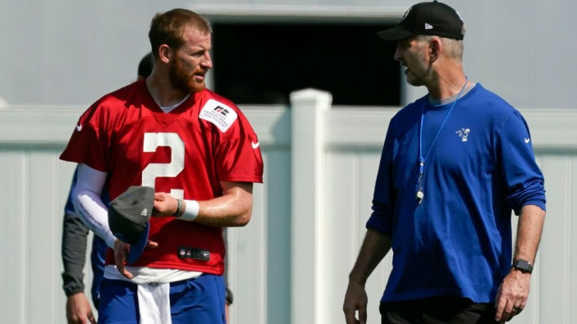 How shared priorities and Christian values bind Colts' Carson Wentz with Frank Reich