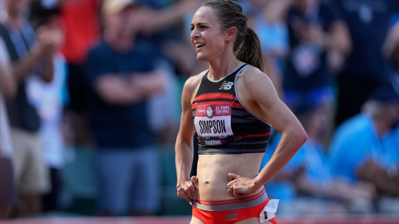 Jenny Simpson (1,500), Donavan Brazier (800) fall short at U.S. track and field trials