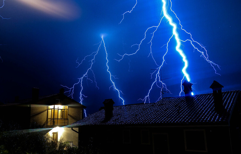 Small but powerful storms cause lightning damage in OKC metro