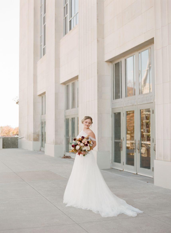 Artisanal Wedding Inspiration | An Artful Fête at Civic Center Music Hall