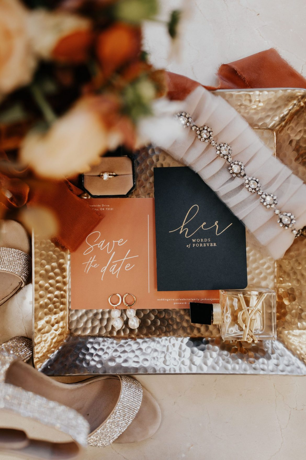 A Gilded Sunset Soiree nestled in the Park House at Myriad Gardens