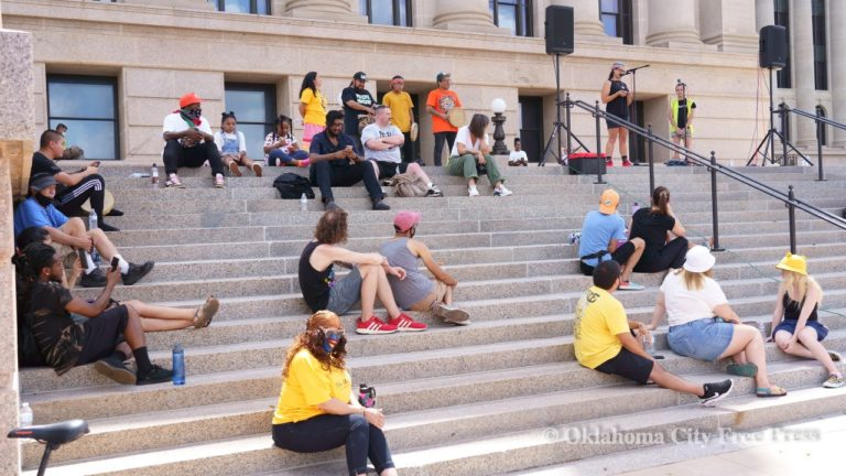 OKC march boosts tribal sovereignty, justice for Julius Jones, voting rights