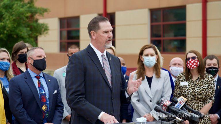 Supt of OKC Public Schools requires masks — legislators react