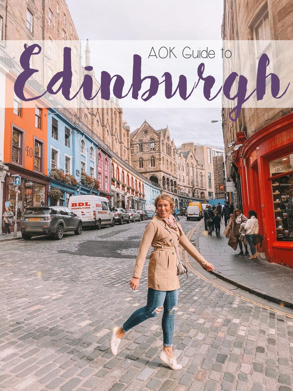 AOK Guide to Edinburgh