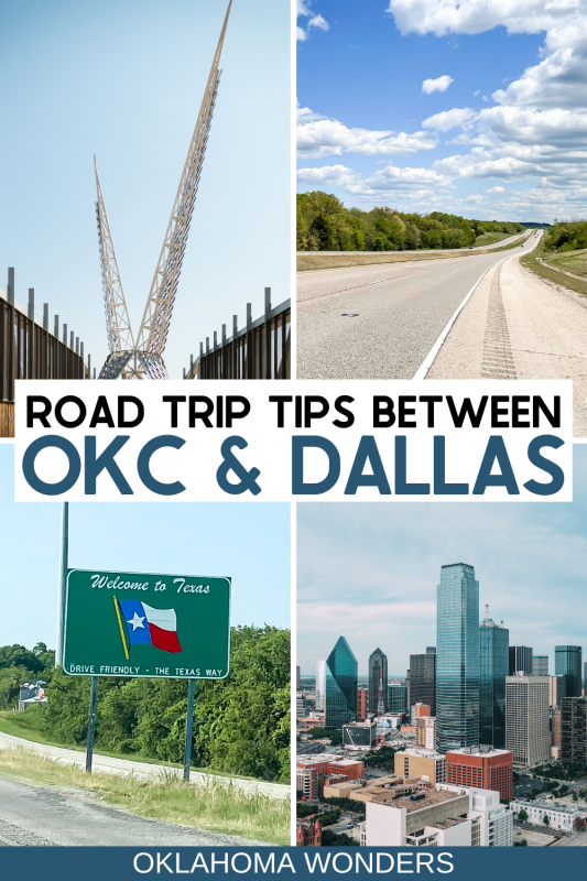 Driving from Oklahoma City to Dallas: Things to Do Between OKC and DFW + Road Trip Tips