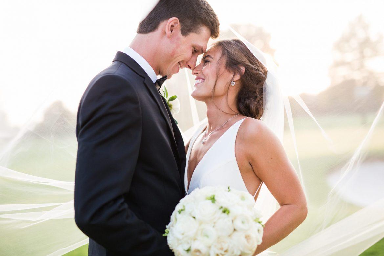 This Glamorous Black Tie Wedding Has Us Swooning