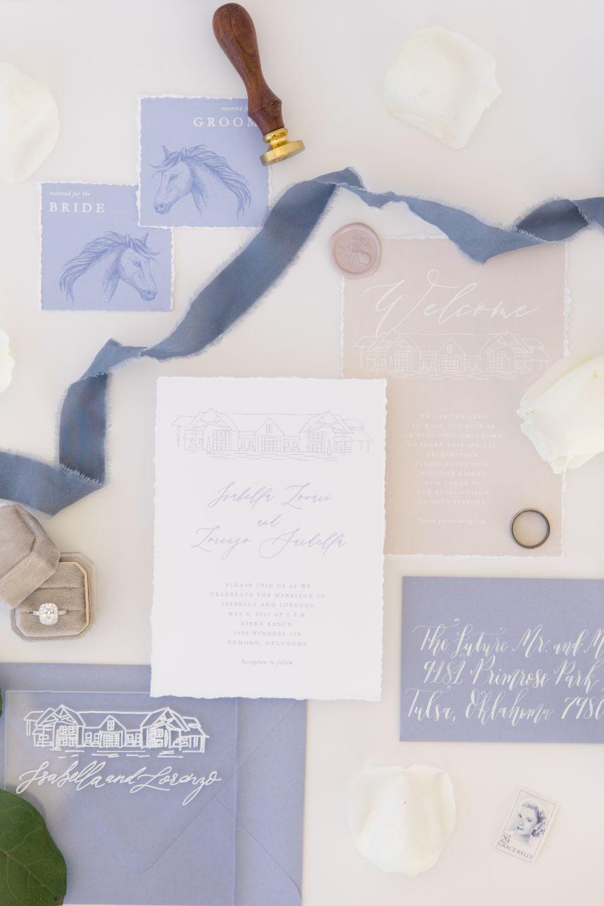 Fresh Italian Romance Wedding Inspiration at Aspen Ranch