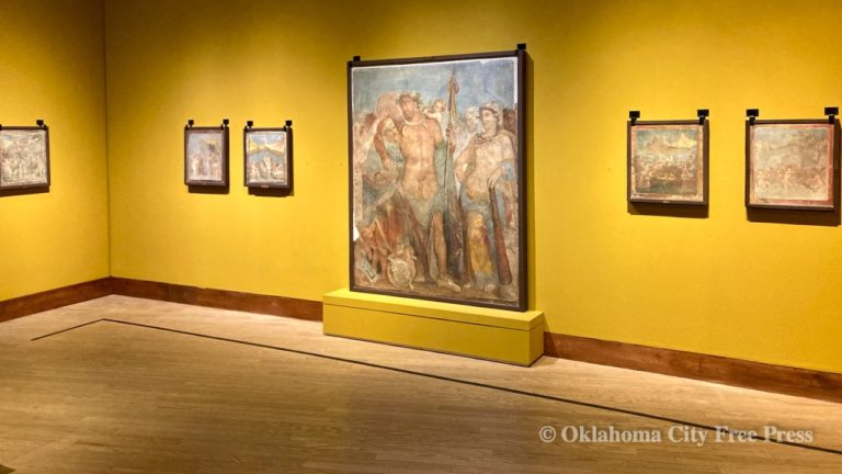OKCMOA presenting exclusive US look at 'The Painters of Pompeii'