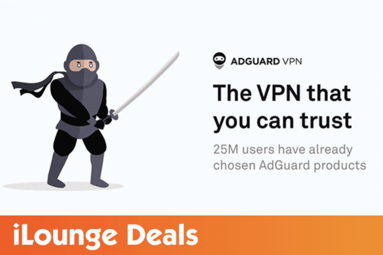 AdGuard VPN: 1-Yr Subscription is 72% Off