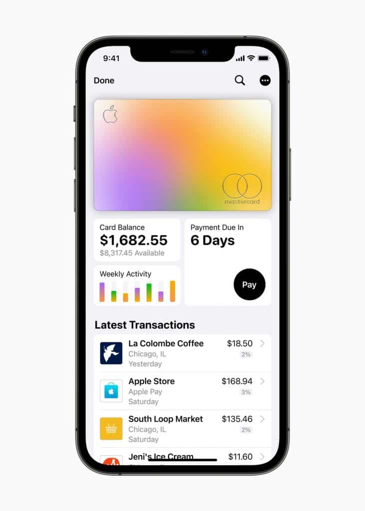 Apple Card ranked No.1 in customer satisfaction