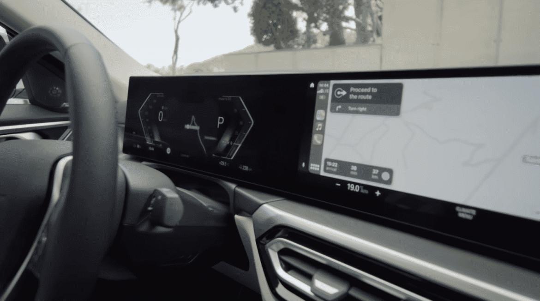 BMW's EV highlights integrated CarPlay experience
