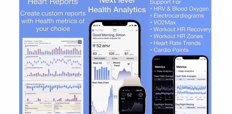 Heart Analyzer app gets new features in update